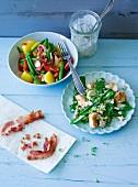 Ernährung bei ADHS: Kartoffelsalat & Dinkelsalat