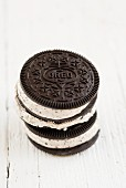 Oreo ice cream sandwiches