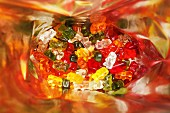 Gummy bears in a bag