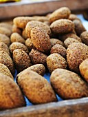 Falafel at a market