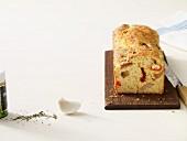 Tangy antipasti cake