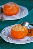 Gelato al mandarino (Mandarineneis, Italien)
