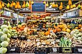 Gemüsemarkt in Riga, Lettland