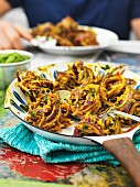Bhaji (fried onion snacks, India)