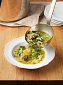 Minestra maritata (Easter soup, Italy)