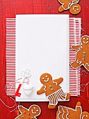 Weihnachtliche Gingerbread Men