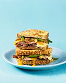 Beef and cheese toasties