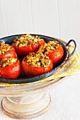Stuffed tomateos à la Provençal
