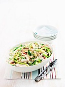 Poached Chicken and Cucumber Pickle Salad