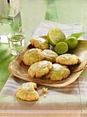 Limetten-Cookies