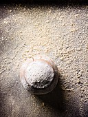 Carob bread with flour