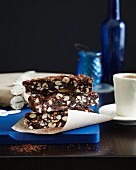 Panforte e caffè (fruitcake and espresso, Italy)