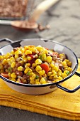 Bean and sweetcorn salad