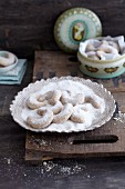 Classic Vanillekipferl (crescent-shaped vanilla biscuits)