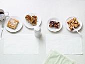 Vier schnelle Blechkuchen