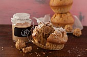 Nut muffins with Baileys