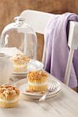 Bienenstich muffins (caramelised almond cakes)