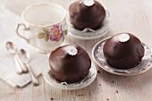 Viennese muffins (Sacher cake muffins)
