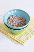 Sesame seeds in a dish