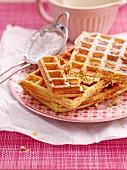 Sponge waffles