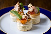 Duck liver vol-au-vents