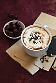 Black Forest hot chocolate