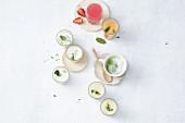 Five vegetarian soups