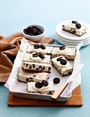 Ultimate cookies and cream slice