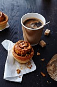 Cinnamon buns and a coffee to go