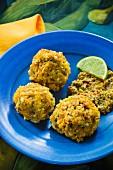 Mofongo - Kochbananenklösschen aus Puerto Rico