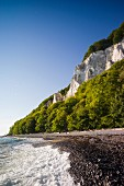Jasmund National Park on Rügen – a view of the chalk cliffs