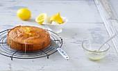 A juicy mini lemon cake