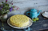 Lemon and ginger cake