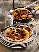 Buckwheat berry pancakes