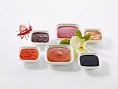 Various oriental sauces