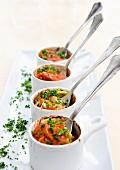 Lachs En Cocotte mit Tomaten