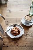 Sweet pastries and coffee