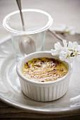 Crème brûlée with vanilla