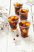 Dried fruit compote for Christmas