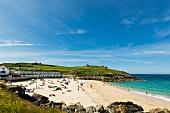 Porthgwidden Beach in St. Ives (Cornwall, England)