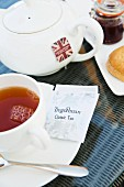 Tregothan Tea im The Idle Rocks in St. Mawes (Cornwall, England)