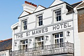 An exterior view of The St. Mawes Hotel (St. Mawes, Cornwall, England)