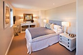 A double room at The Tide House Hotel in St. Ives (Cornwall, England)