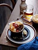Pork and Ale Pie (Schweinefleischpastete, England)
