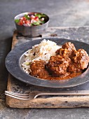 Rogan josh - aromatic lamb dish from Persia