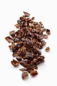 Schalen der getrockneten Kaffeekirsche für Tee (Cascara)