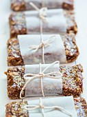 Homemade with muesli bars