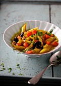 Asparagus stew