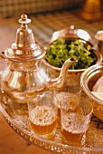 Peppermint tea, Marrakesh, Morocco, North Africa