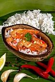 Camarones al ajillo, Gericht aus der Karibik, Mittelamerika
